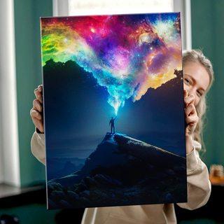 Картина Цвета Космоса