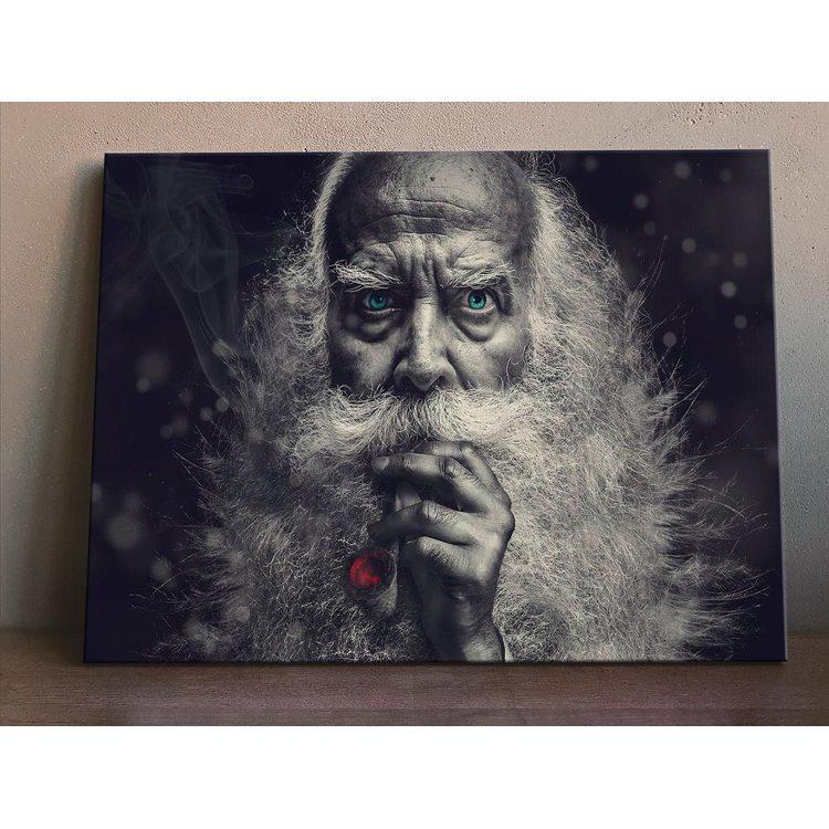 Картина Дед С Трубкой