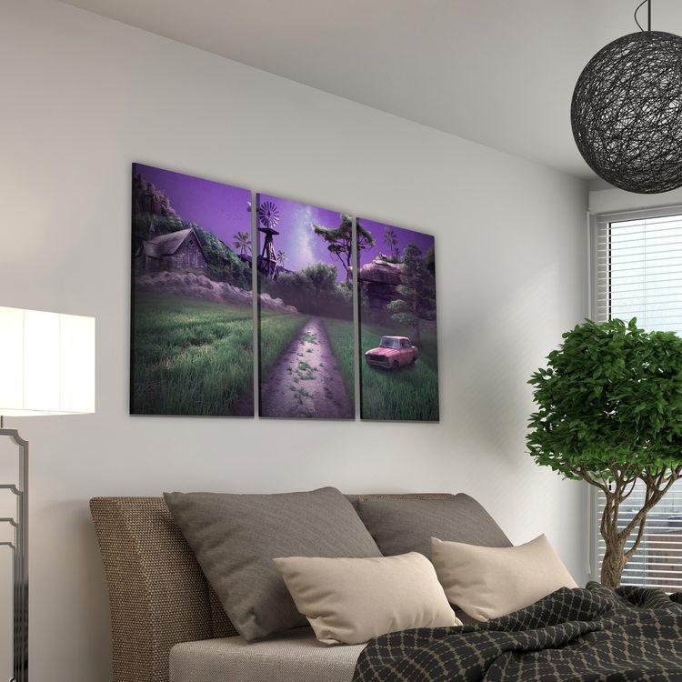 Картина Деревенская Дорога