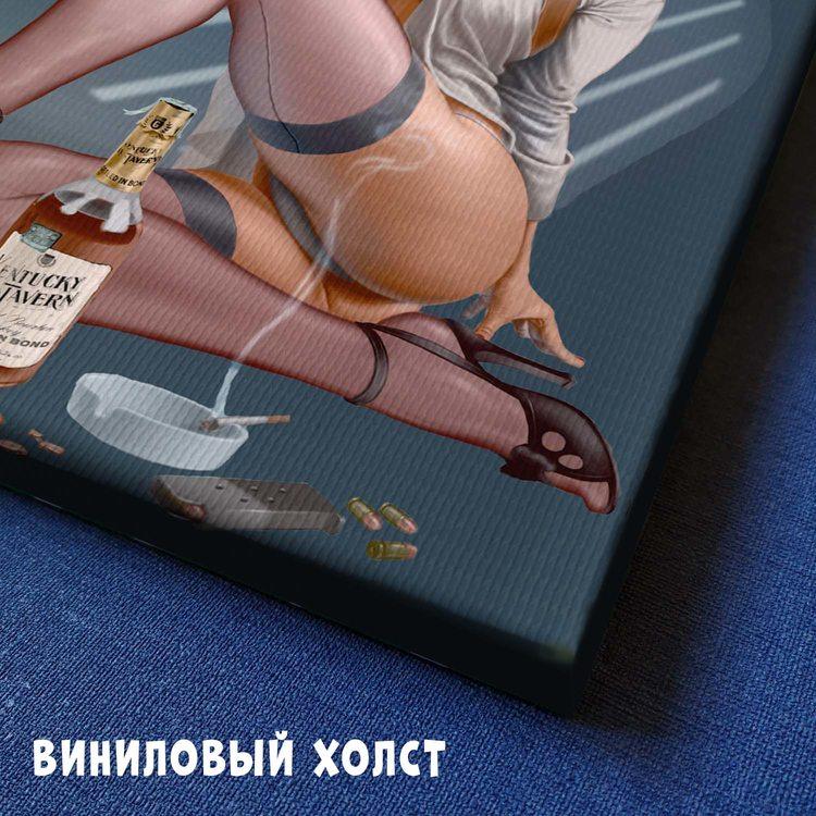 Картина Девушка Детектив