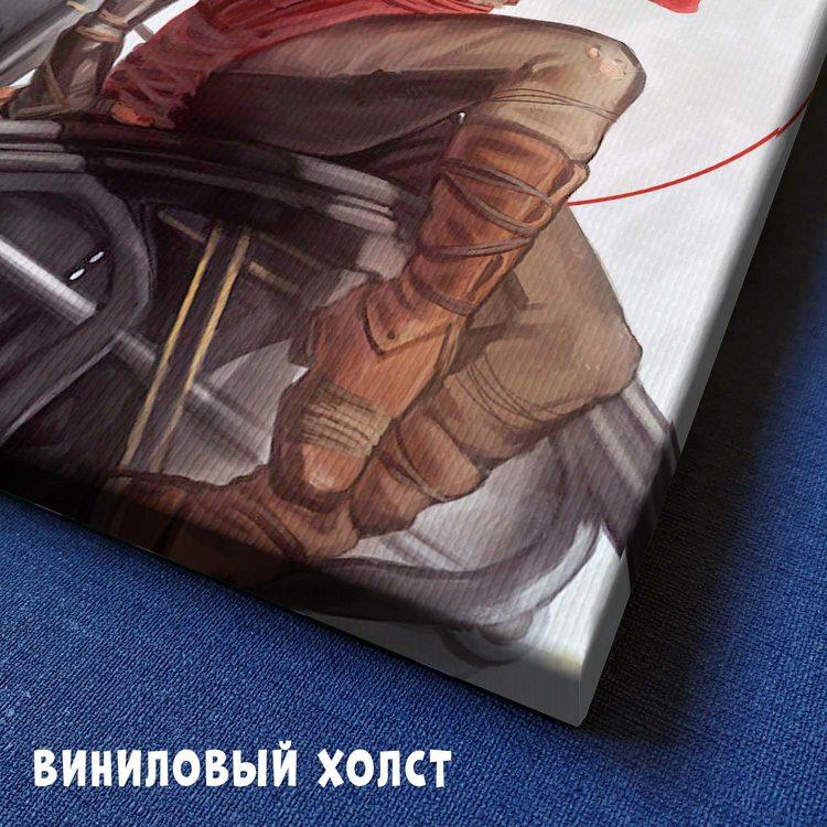 Картина Девушка Ремонтник