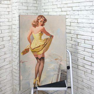 Картина Девушка В Желтом Платье - p53566