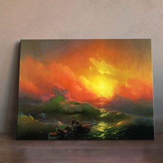 Картина Айвазовский - Девятый Вал