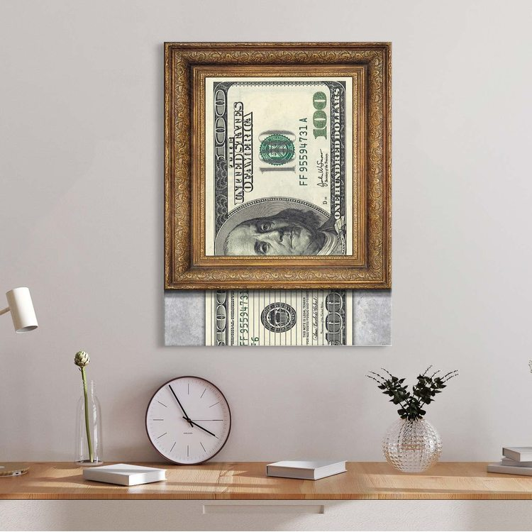 Картина Dollar Shreder