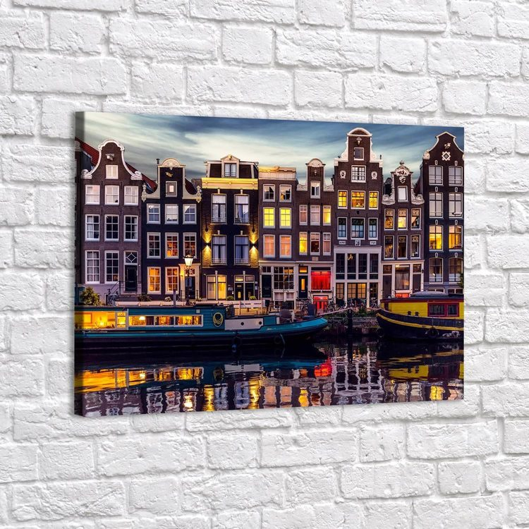 Картина Дома Амстердама - p53669