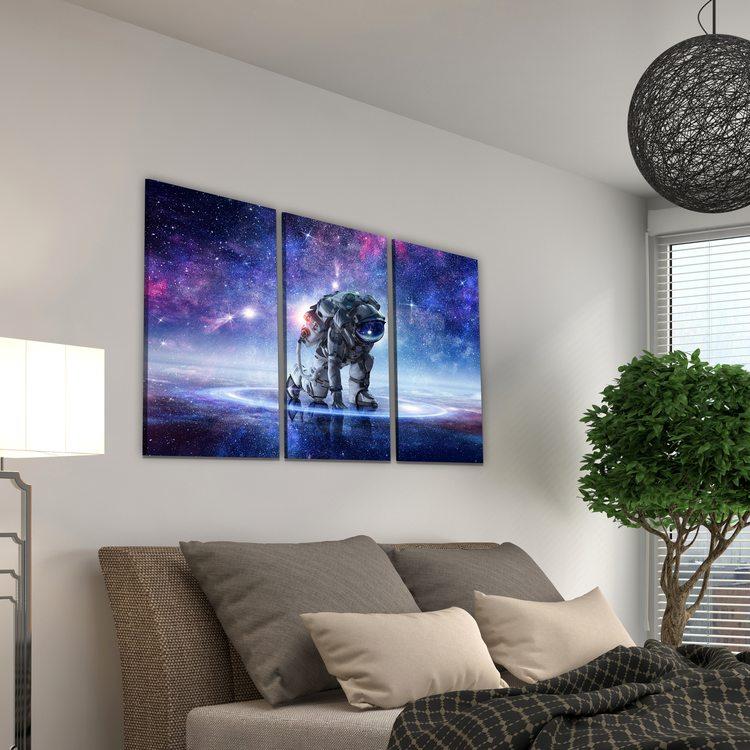 Модульная картина Единение С Космосом