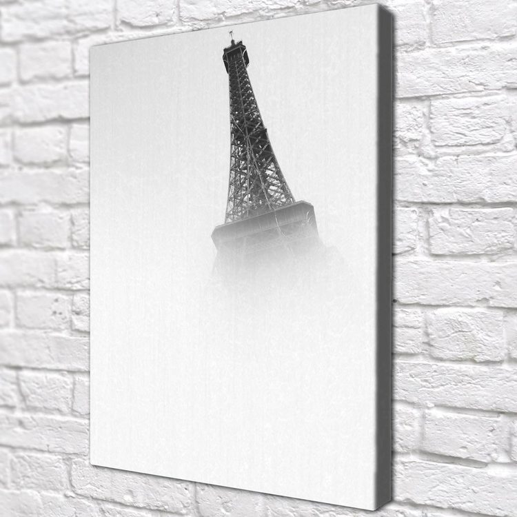 Картина Эйфелева Башня Чб - p53766