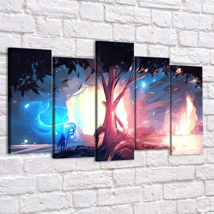 Картина Эльфийское Святилище