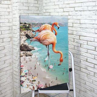 Картина Фламинго Великаны