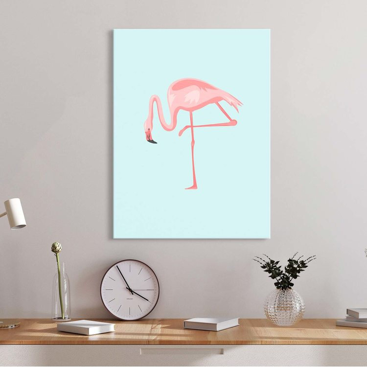 Картина Фламинго Минимализм 2