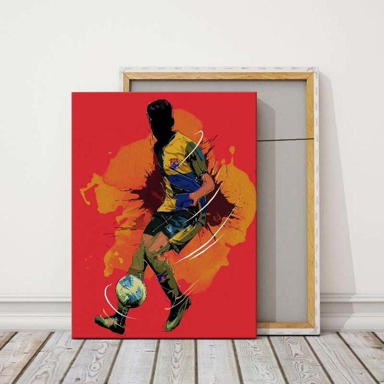 Картина Футболист - Арт