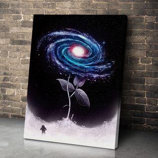 Картина Галактический Цветок