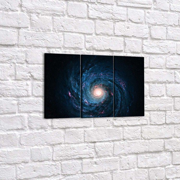 Модульная картина Галактика
