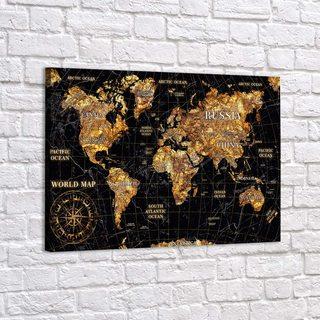 Картина Gold Map