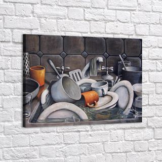 Картина Гора Посуды - p53721