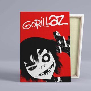 Картина Gorillaz 2D - p53648