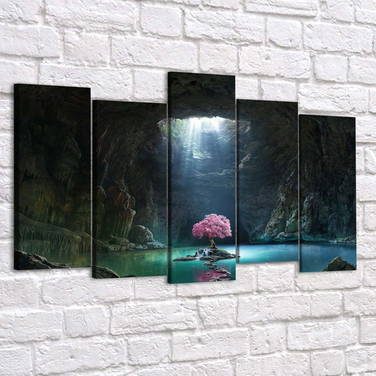 Картина Грот И Сакура