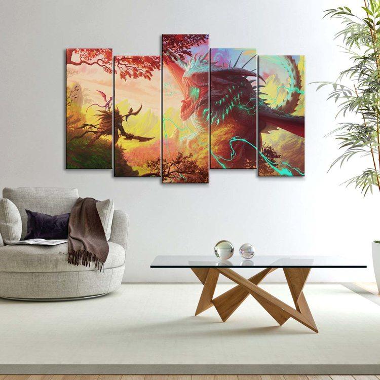 Картина Грозовой Дракон