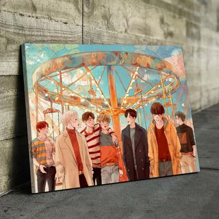 Картина Группа BTS Карусель
