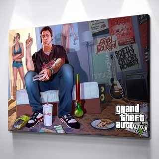 Картина GTA - Джимми