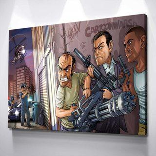Картина GTA - Мульт
