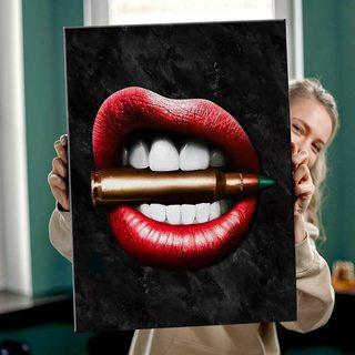 Картина Губы Патрон
