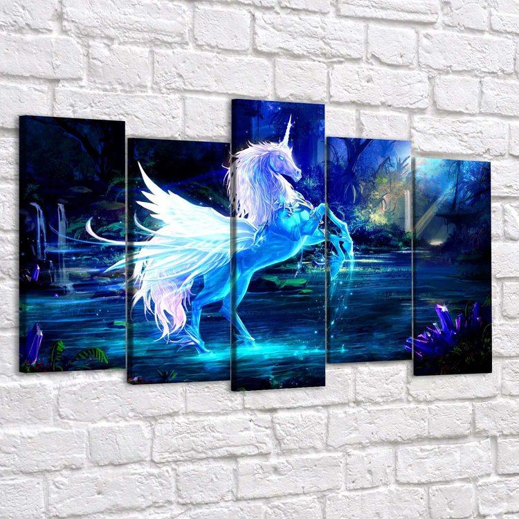 Картина Хрустальный Единорог