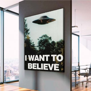 Картина I want to believe