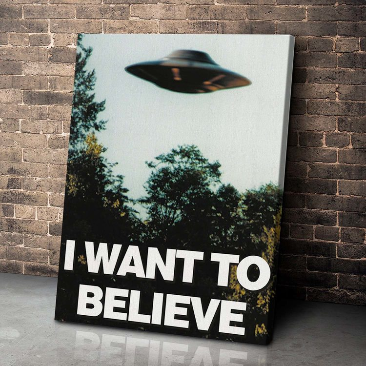 Картина I want to believe