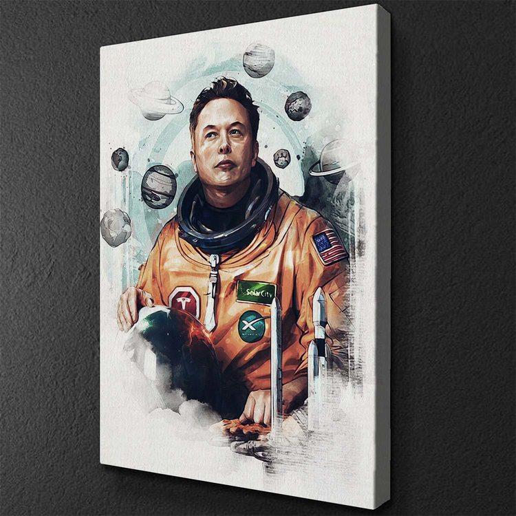 Картина Илон Маск SpaceX