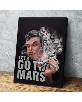Картина Илон Маск To Mars