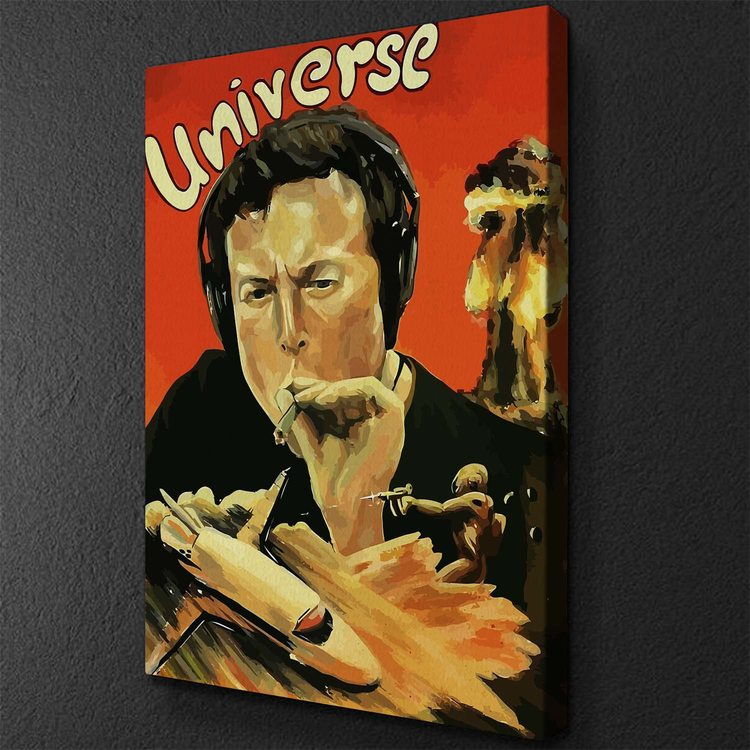 Картина Илон Маск Universe