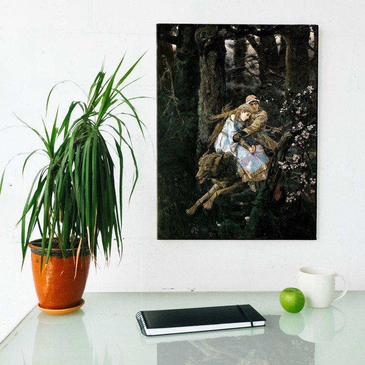 Картина Виктор Васнецов - Иван-Царевич На Сером Волке