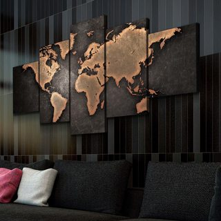 Картина Карта Мира