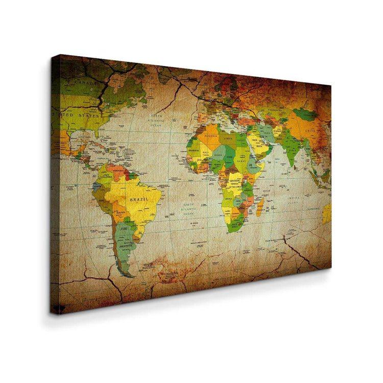 Картина Карта Мира - p53671