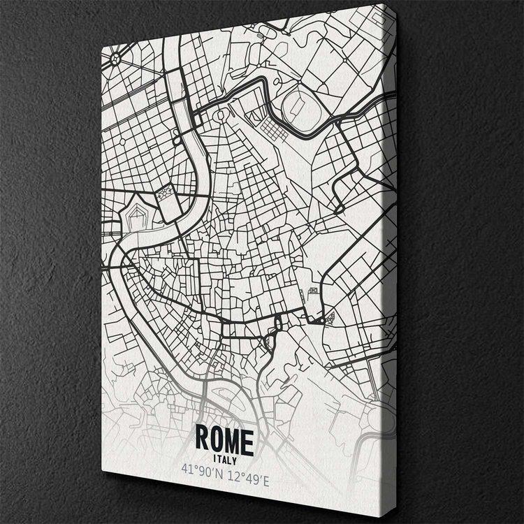Картина Карта Рим