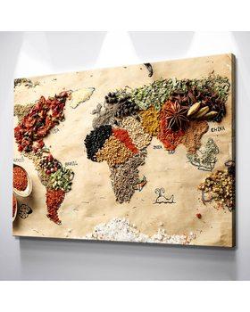 Картина Карта Специй Мира