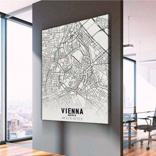 Картина Карта Вена