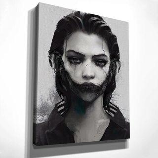 Картина Кибер-девушка