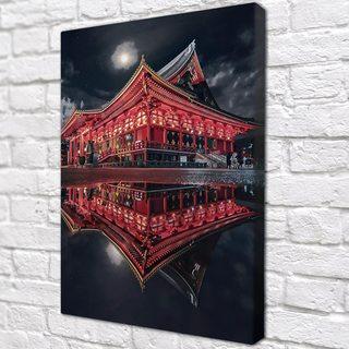 Картина Китайский Дом