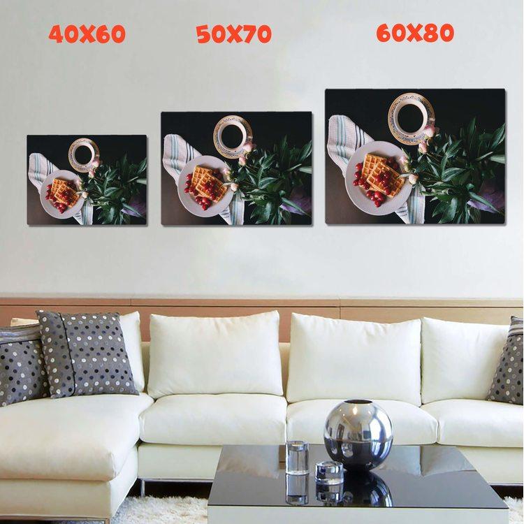 Картина Кофе И Вафли