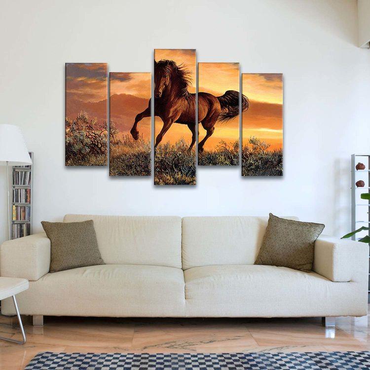 Картина Конь В Степи