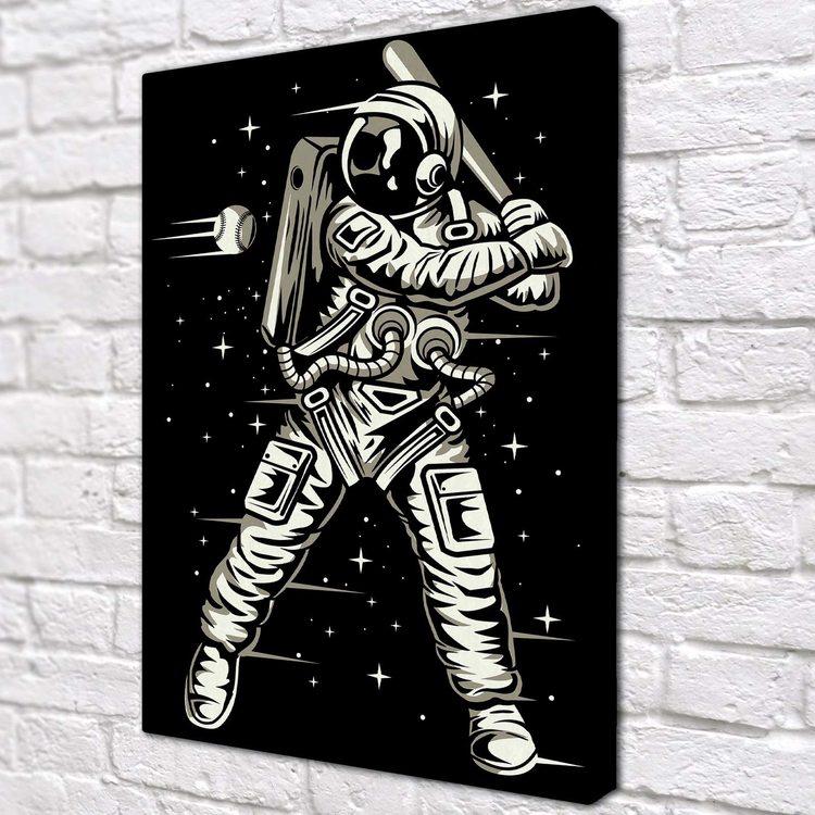 Картина Космический Бейсбол