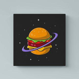 Картина Космический Бургер - p53592