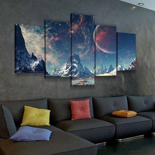 Картина Космический Пейзаж