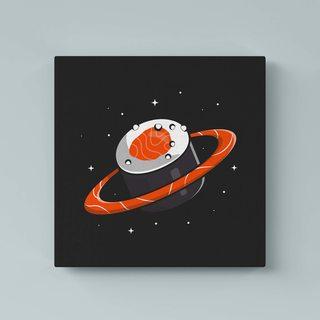 Картина Космический Ролл - p53596