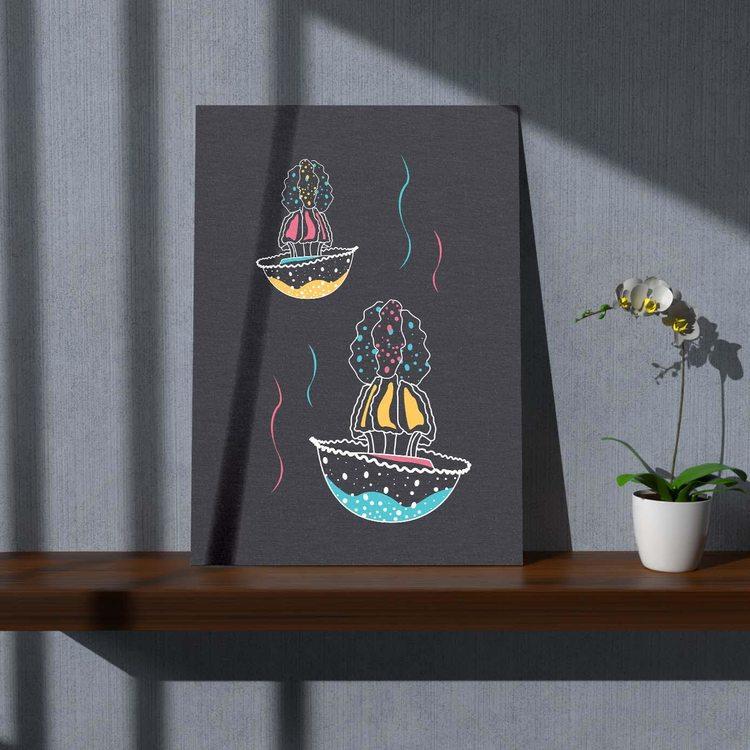 Картина Красивые Медузы Минимализм - p53637