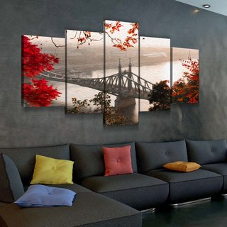 Модульная картина Красная Осень