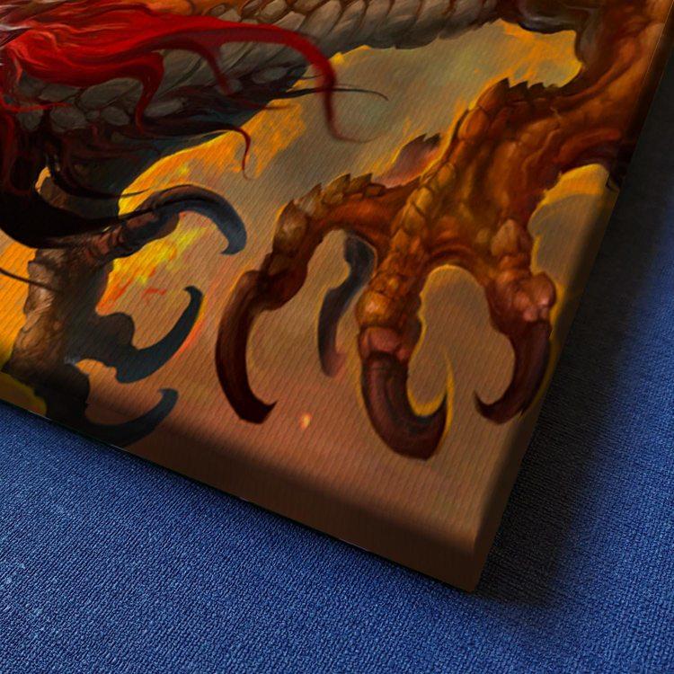 Картина Красный Дракон