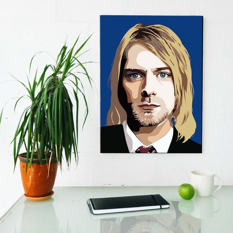 Картина Курт Кобейн